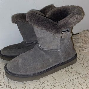 Shoes - Grey off brand uggs